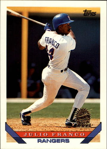 Photo of 1993 Topps Inaugural Marlins #670 Julio Franco