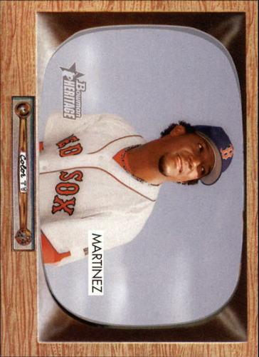 Photo of 2004 Bowman Heritage #48B P.Martinez Victor Stats SP