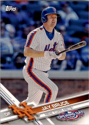 Photo of 2017 Topps Opening Day #70 Jay Bruce