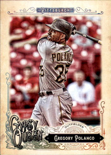 Photo of 2017 Topps Gypsy Queen #175 Gregory Polanco