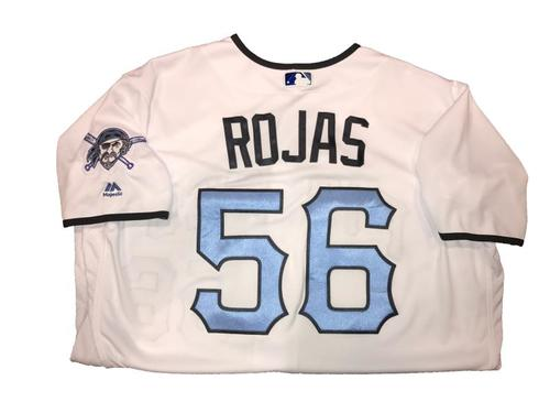 Photo of Euclides Rojas Game-Used Father's Day Weekend Jersey - Worn on 6/17 & 6/18