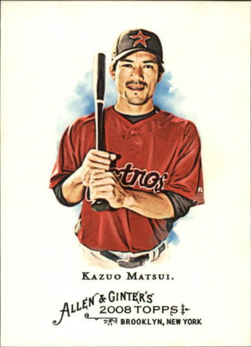 Photo of 2008 Topps Allen and Ginter #48 Kazuo Matsui