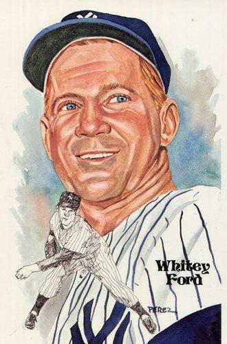 Photo of 1980-02 Perez-Steele Hall of Fame Postcards #144 Whitey Ford -- Set #08689