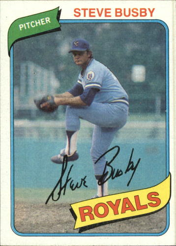 Photo of 1980 Topps #474 Steve Busby