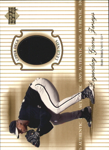 Photo of 2000 Upper Deck Legends Legendary Game Jerseys #JFT Frank Thomas