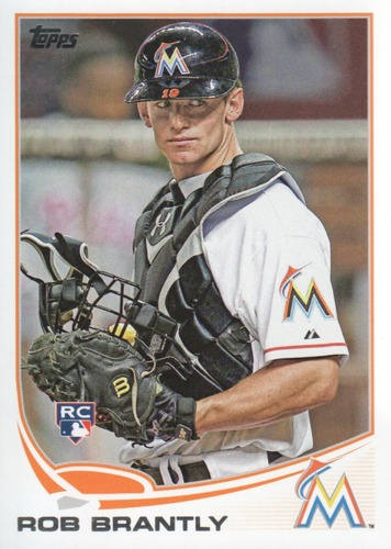 Photo of 2013 Topps #511 Rob Brantly RC