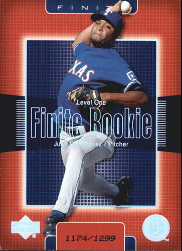 Photo of 2003 Upper Deck Finite #256 Juan Dominguez T1