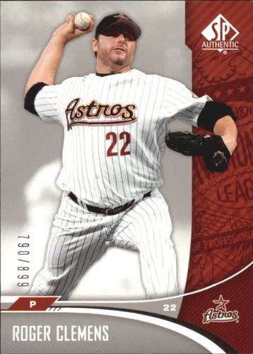 Photo of 2006 SP Authentic #138 Roger Clemens