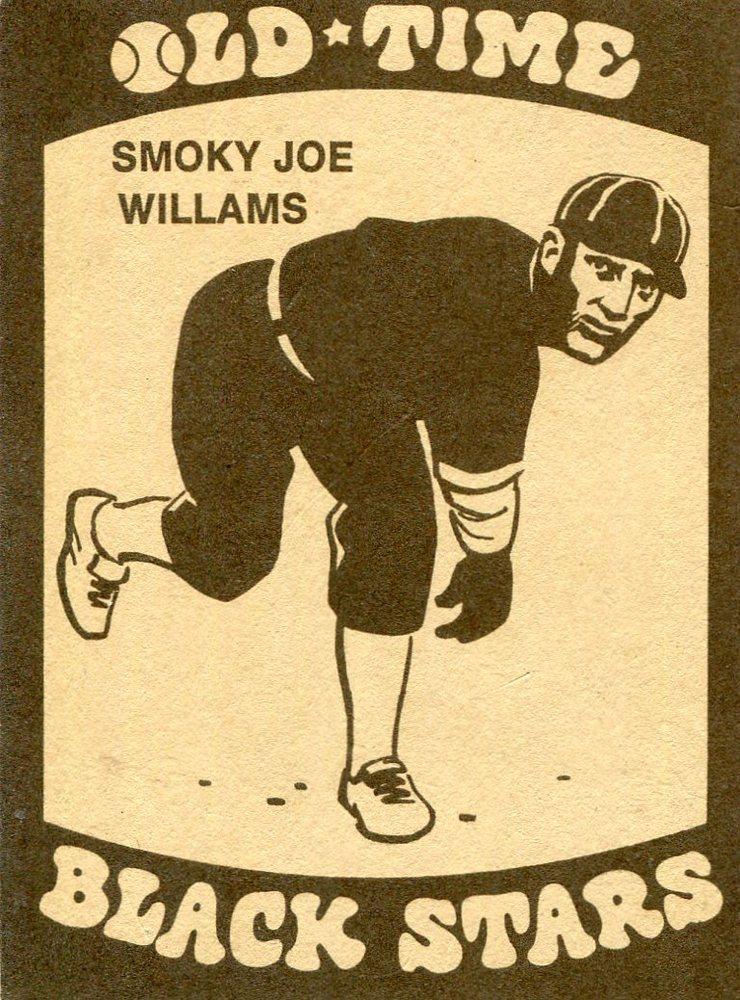 1974 Laughlin Old Time Black Stars #1 Smokey Joe Williams