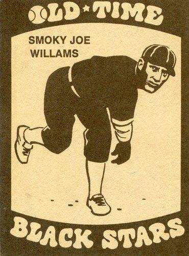 Photo of 1974 Laughlin Old Time Black Stars #1 Smokey Joe Williams