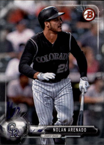 Photo of 2017 Bowman #49 Nolan Arenado