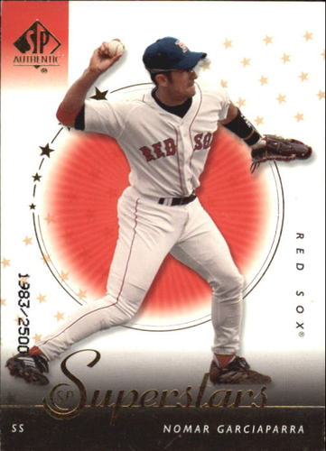Photo of 2000 SP Authentic #104 Nomar Garciaparra SUP