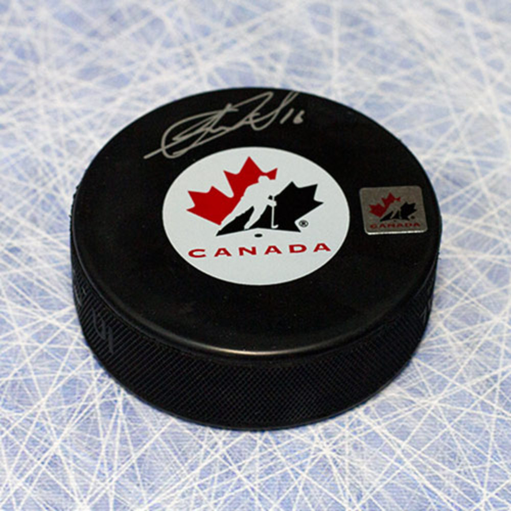 Jonathan Toews Team Canada Autographed Hockey Puck *Chicago Blackhawks*