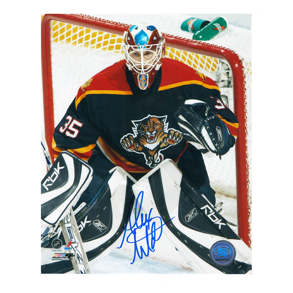 ALEXANDER AULD Signed Florida Panthers 8 X 10 Photo - 70015