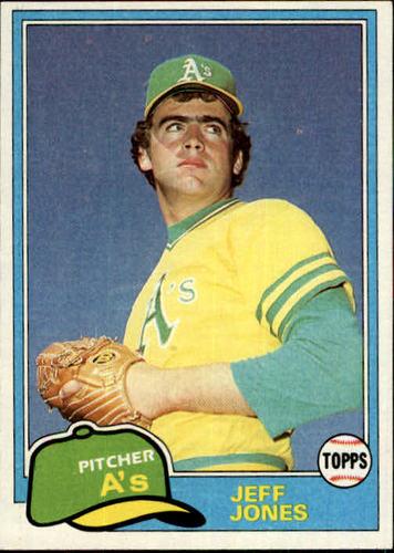 Photo of 1981 Topps #687 Jeff Jones RC