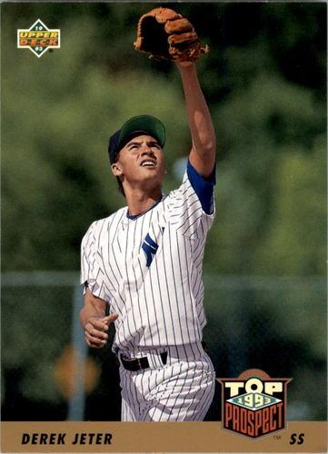 Photo of 1993 Upper Deck #449 Derek Jeter RC Rookie Card