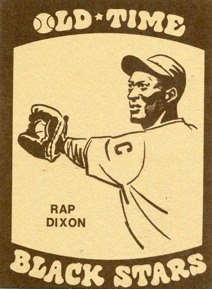 1974 Laughlin Old Time Black Stars #2 Rap Dixon
