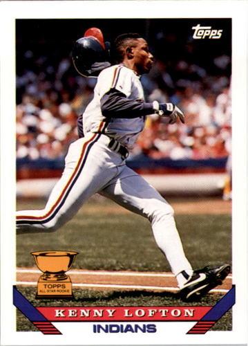 Photo of 1993 Topps #331 Kenny Lofton
