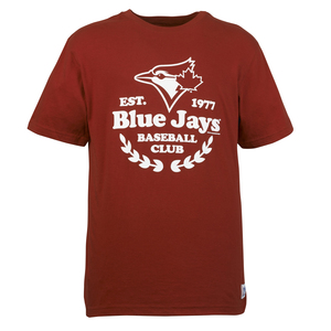 Toronto Blue Jays Laurel T-Shirt Red by Roots