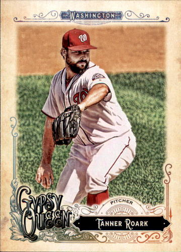 Photo of 2017 Topps Gypsy Queen #180 Tanner Roark