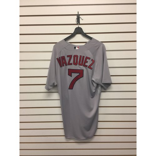 Photo of Christian Vazquez Team-Issued Road Jersey