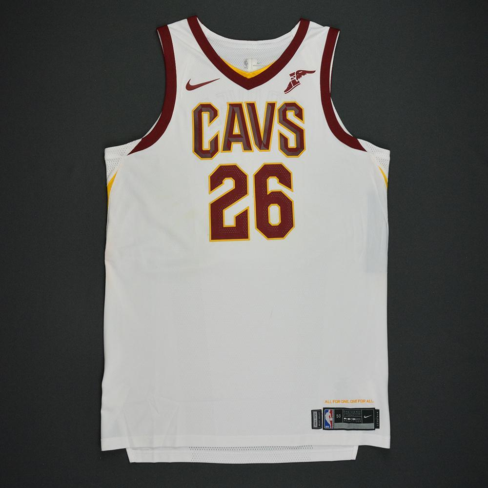 2eab1368a ... Kyle Korver - Cleveland Cavaliers - Opening Night Game-Worn Jersey  Charity Auction - OneAmericaAppeal ...