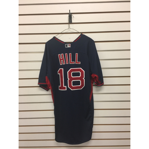 Photo of Aaron Hill Team-Issued Road Batting Practice Jersey