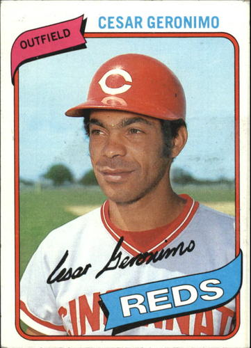 Photo of 1980 Topps #475 Cesar Geronimo