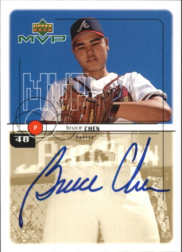 Photo of 1999 Upper Deck MVP ProSign #BC Bruce Chen