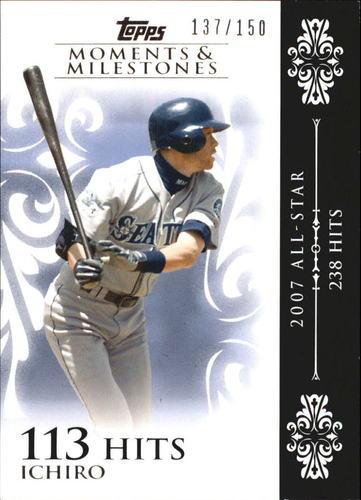 Photo of 2008 Topps Moments and Milestones #63-113 Ichiro Suzuki