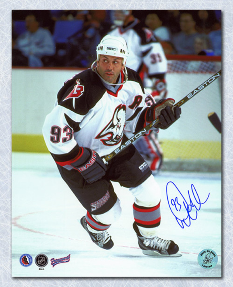 Doug Gilmour Buffalo Sabres Autographed 8x10 Photo