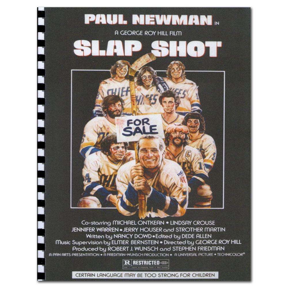 Yvon Barrette (Denis Lemieux) Autographed Slap Shot Script