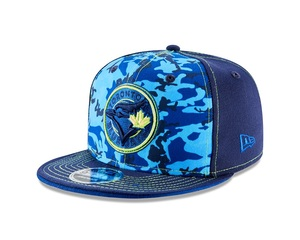 Toronto Blue Jays Josh Donaldson Signature Camo Snapback by New Era