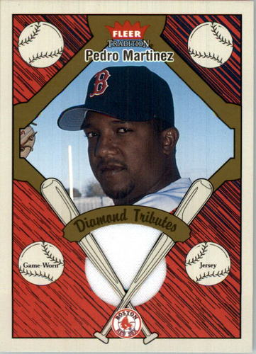 Photo of 2004 Fleer Tradition Diamond Tributes Game Jersey #PM Pedro Martinez