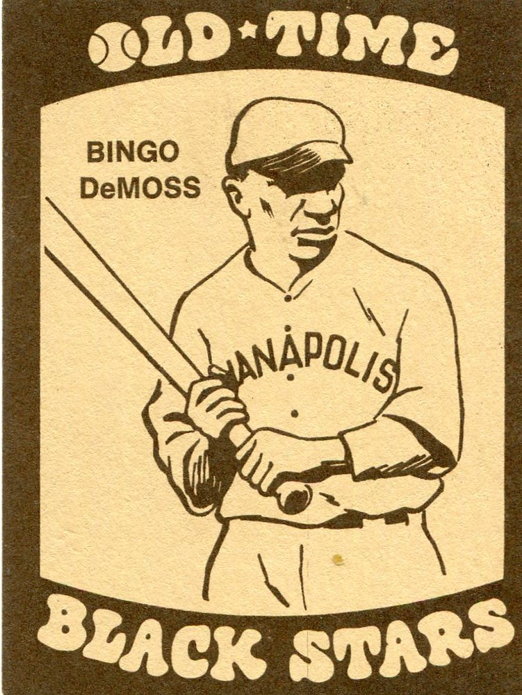 1974 Laughlin Old Time Black Stars #4 Bingo DeMoss