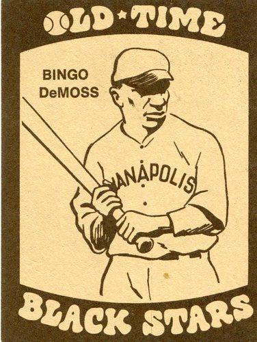 Photo of 1974 Laughlin Old Time Black Stars #4 Bingo DeMoss