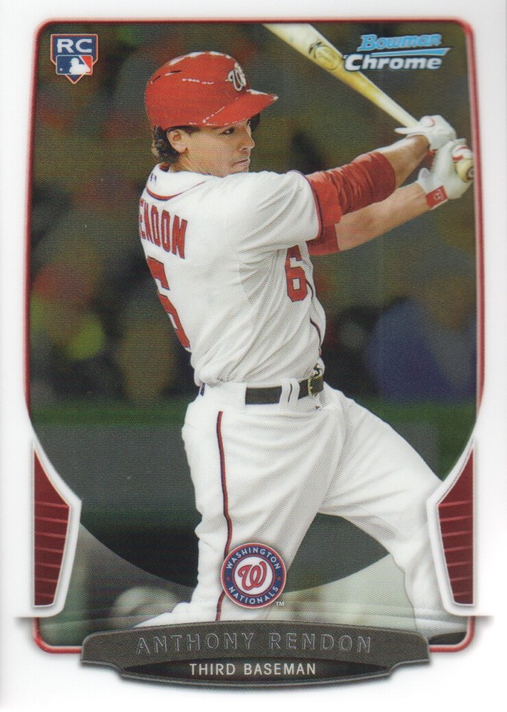 2013 Bowman Chrome #97 Anthony Rendon RC