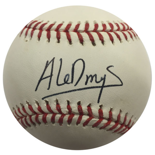 Cardinals Authentics: Aledmys Diaz Autographed Baseball