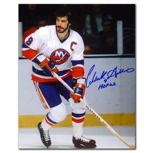 Clark Gillies New York Islanders RUSH Autographed 8x10