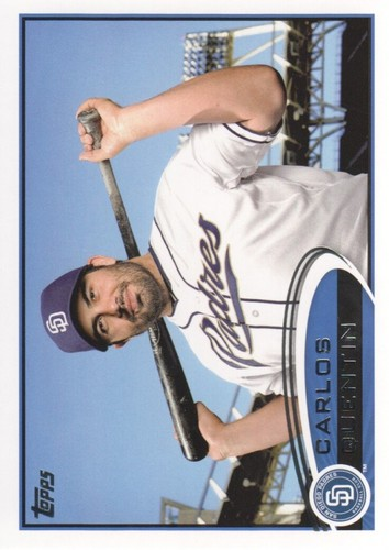 Photo of 2012 Topps #376 Carlos Quentin