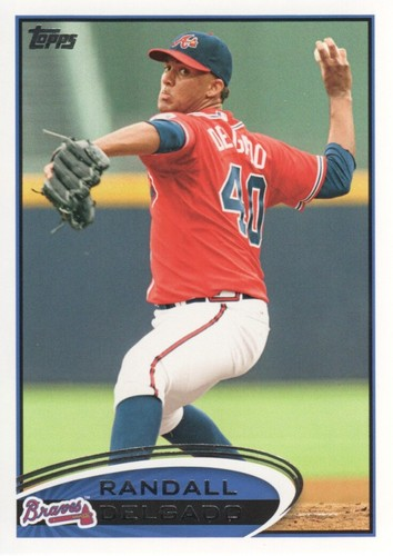 Photo of 2012 Topps #510 Randall Delgado