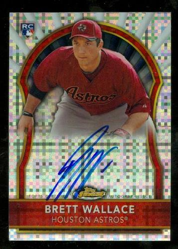 Photo of 2011 Finest Rookie Autographs X-Fractors #69 Brett Wallace