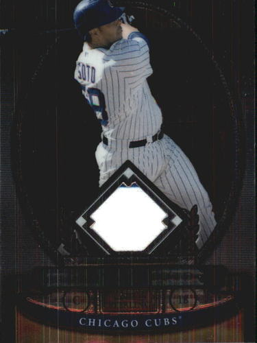 Photo of 2008 Bowman Sterling #GS Geovany Soto Jsy