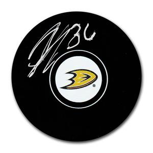 John Gibson Autographed Anaheim Ducks Puck