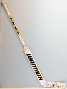 #40 Tuukka Rask Game Used Stick - Autographed - Boston Bruins