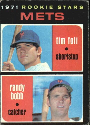 Photo of 1971 Topps #83 Rookie Stars/Tim Foli RC/Randy Bobb