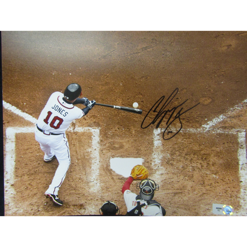 Photo of Braves Charity Auction - Chipper Jones Photo