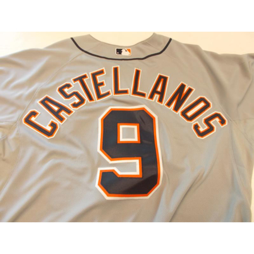 Photo of Game-Used Nick Castellanos Road Jersey