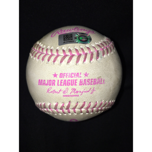 Photo of Game-Used Baseball from Mother's Day May 14, 2017: Chicago White Sox vs. San Diego Padres