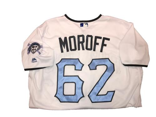 Photo of Max Moroff Game-Used Father's Day Weekend Jersey - Worn on 6/17 & 6/18